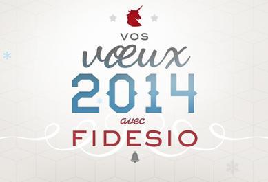 voeux fidesio 2014