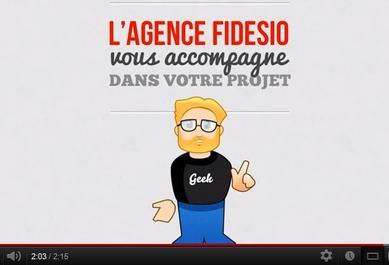 Découvrez la vidéo Fidesio sur les sites internet