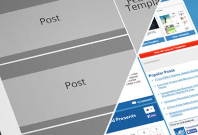 wireframe page web