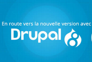 Drupal 8 :En route vers la nouvelle version avec Symfony