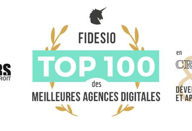 Fidesio top 100 des meilleures agences digitales
