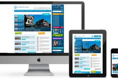 Responsive design Fidesio agence Web