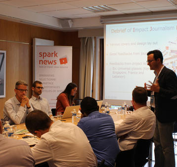 Sparknews - Impact Journalism Day