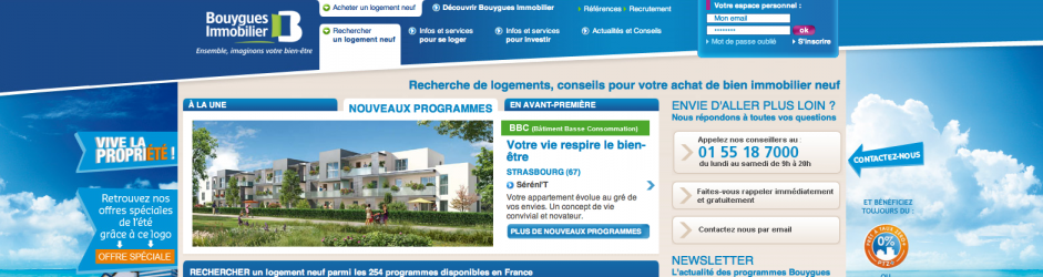BOUYGUES IMMOBILIER (mini-site)