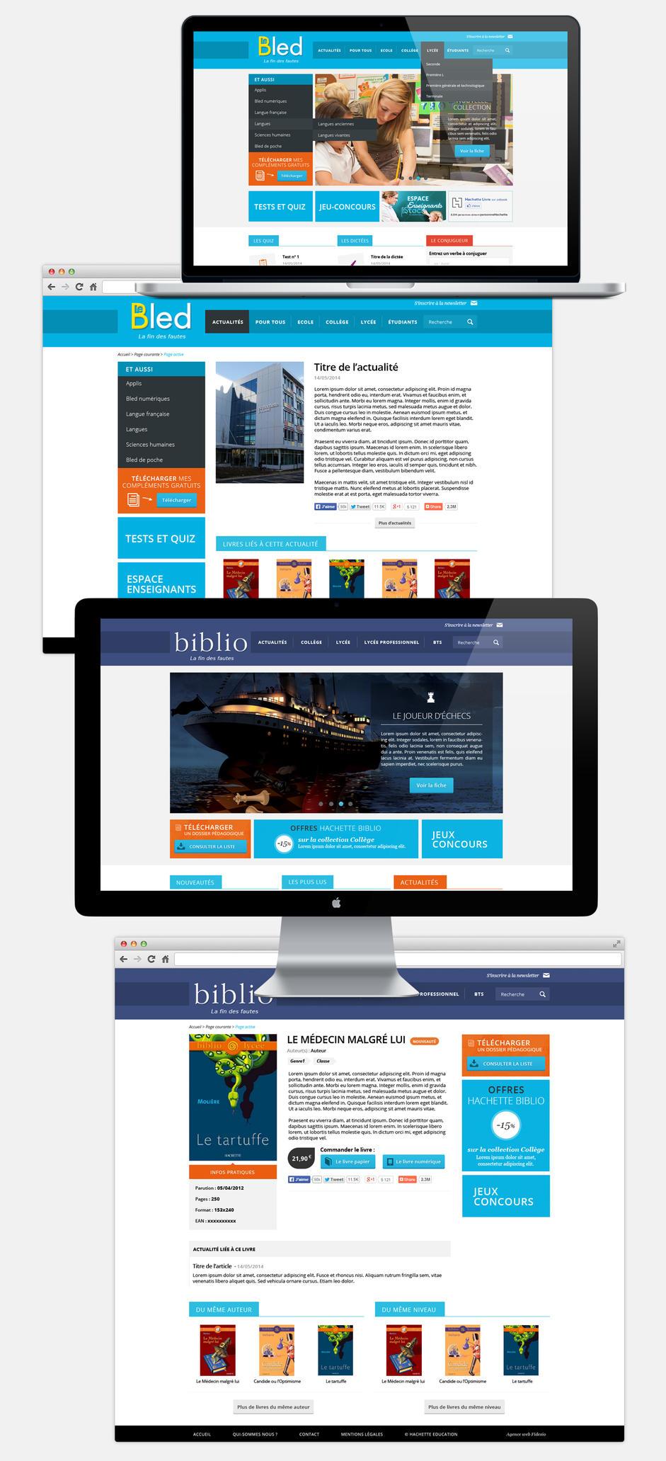 Hachette Web