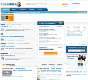 site de finance, trading, analyse, sous DRUPAL